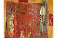 Couple I,  Oil on Canvas,  59cm x 65cm
