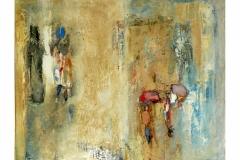 Couple II,  Oil on Canvas,  60cm x 70cm