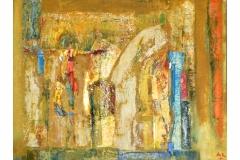 Dance,  Oil on Canvas,  46cm x 60cm