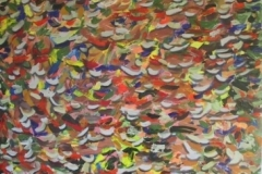 Fall Abstrct,  Cyril Seme,   5'x5'