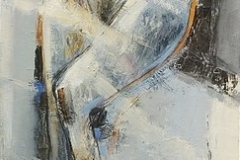 Figure II,  Oil on Canvas,  150cm x 50cm