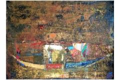 Gold,  Oil on Canvas,   60cm x 70cm