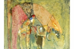 Horse Rider I,  Oil on Canvas,  60cm x 70cm