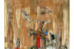 Horse Rider II,  Oil on Canvas,  60cm x 70cm