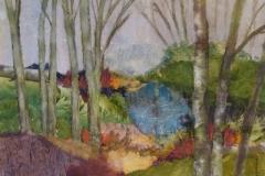 Lake,  Roxsane,  Chigiri-e on Paper