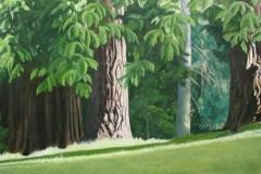 Last Rays,  Cyril Seme,  Acrylic on Canvas
