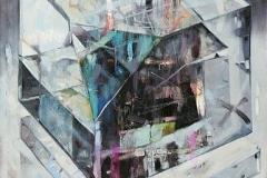 Millenium I, Oil on Canvas, 190cm x 140cm