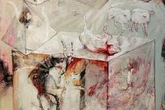 Millenium II, Oil on Canvas, 190cm x 140cm