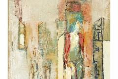 Model I,  Oil on Canvas,  46cm x 39cm