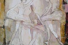 Practice,  Oil on Canvas,  120cm x 90cm