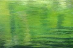 "Reflections,  Cyril Seme,  Acrylic on Canvas,  24""x30"""