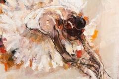 Reverance,  Oil on Canvas,  90cm x 90cm