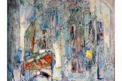 Sacred Place,  Oil on Canvas,  50cm x 60cm