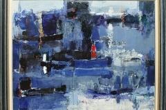 Sea Dreams I,  Oil on Canvas,  70cm x 90cm