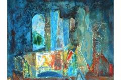 Shore,  Oil on Canvas,  60cm x 65cm