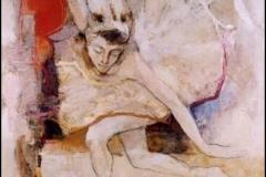 Swan Song III,  Oil on Canvas,  80cm x 80cm