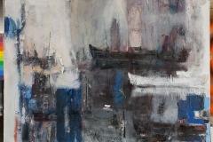 The Light,  Oil on Canvas,  150cm x 130cm