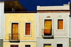 The Street,  Oil on Canvas,  70cm x 70cm