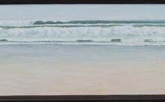 "Tofino Combers Beach,  Cyril Seme,  Acrylic on Canvas,  12""x48"""
