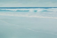 "Tofino Long Beach I, Cyril Seme,  Oil on Canvas,  24""x72"""