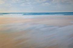 "Tofino Surf III,  Cyril Seme,  Acrylic on Canvas,  24""x36"""
