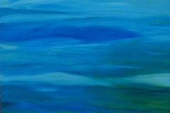 "Waves IV,  Cyril Seme,  Acrylic on Canvas,  36""x40"""