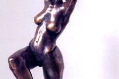 Dancing Woman (Joy),  Bronze,  68cm x 43cm x 28cm