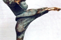 Karate,  Bronze,  44cm x 24cm x 12cm