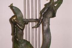 Music,  Bronze