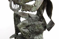Orpheus,  Bronze,  57cm x 32cm x 20cm