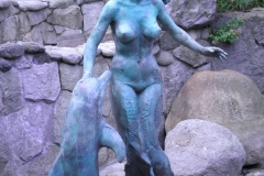 Sea Play,  Bronze,  Life-size