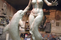 Sea Play in Studio,  Life-size