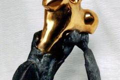 The Soldier,  Bronze,  26cm x 20cm x 13cm