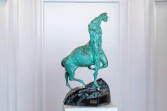 The King,  Bronze/ Marble,  45cm x 25cm x 32cm