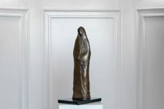 Monk I,  Bronze/ Marble,  46cm x 22cm x 15.5cm