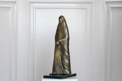 Monk II,  Bronze/ Marble,  46cm x 22cm x 15.5cm