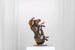 The Birth of Pegasus,  Bronze,  26cm x 15cm x 15cm