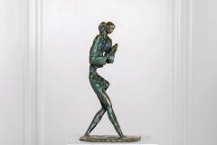 Girl,  Bronze,  34cm x 13cm x 18cm