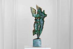 Balance,  Bronze,  41cm x 17cm x 7cm