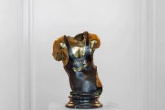 Victory,  Bronze/ Marble,  27cm x 15cm x 17cm