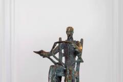 The Reader,  Bronze,  38cm x 25cm x 23cm