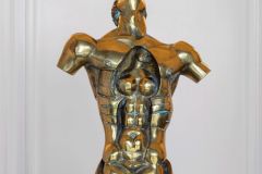Genesis,  Bronze/ Marble,  52cm x13cm x 28cm